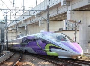 エバンゲリオン 新幹線